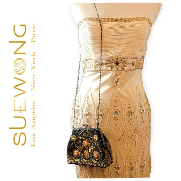 Sue Wong Dresses & Skirts - Sue Wong Nocturne beaded cocktail dress, 6